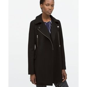 NWT Zara Black Coat ❄️